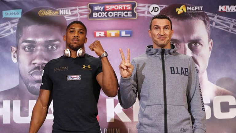 Vegas could be the venue for the next Joshua-Klitschko bout
