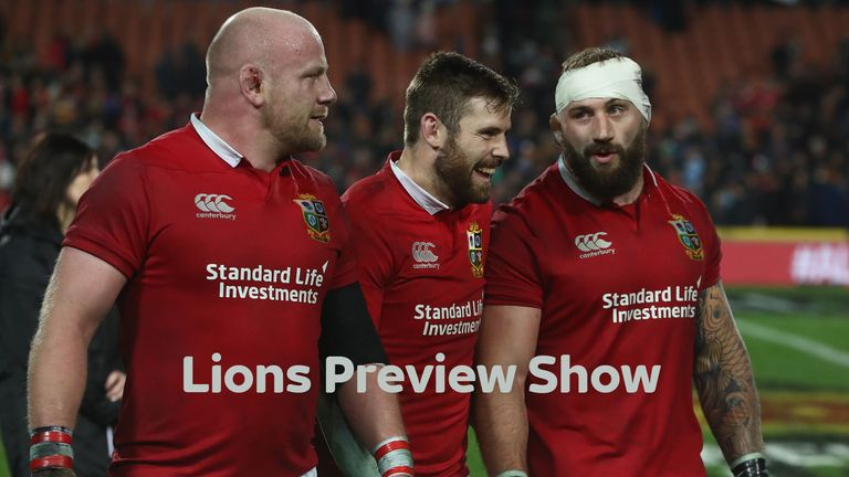 Lions preview show streaming