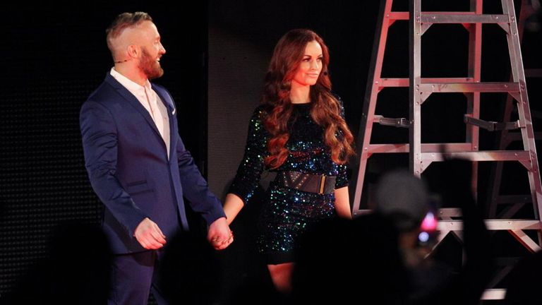 Maria Kanellis, along with her husband Mike, made their return to WWE at Money in the Bank.
