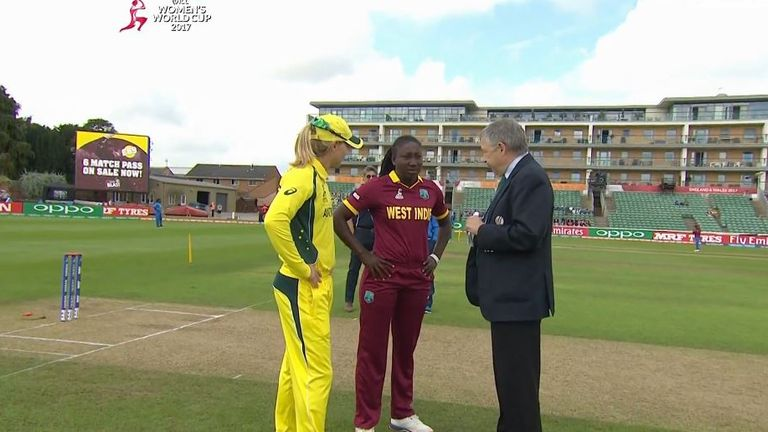 Stafanie Taylor - coin-toss confusion