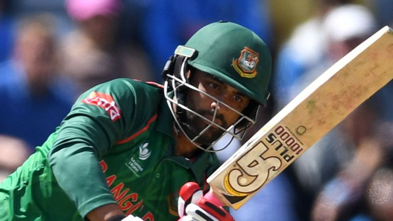Tamim Iqbal top-scored for Bangladesh with 70 off 82 balls
