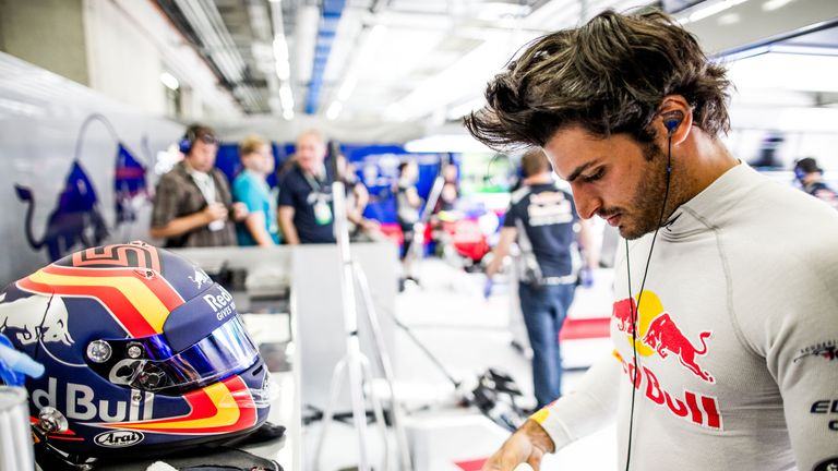 Carlos Sainz doesn't regret Toro Rosso comments but keen to talk