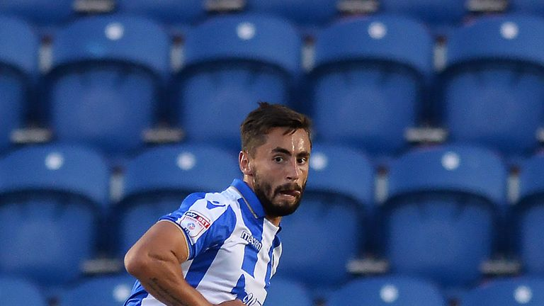 Kinsella in action for Colchester in a pre-season friendly against Ipswich