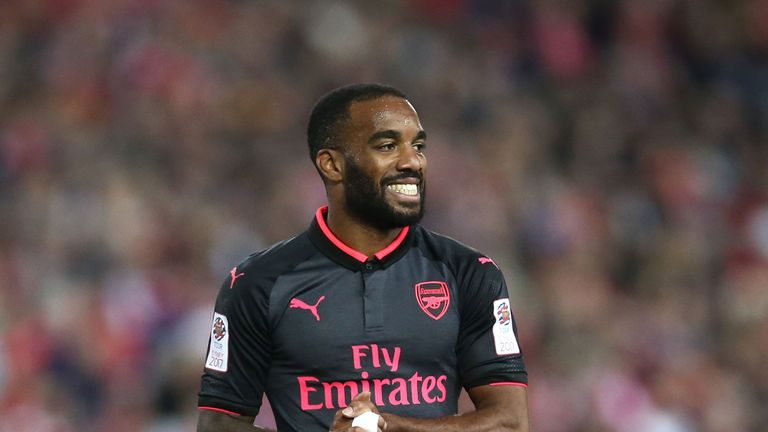 Arsenal have already secured the signing of forward Alexandre Lacazette this summer