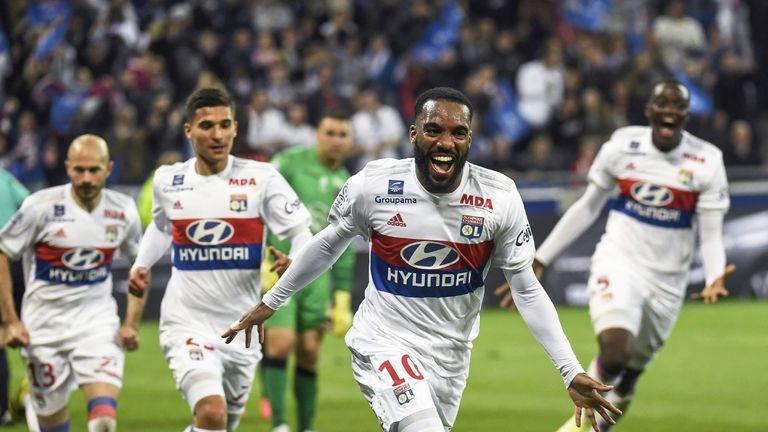 Lacazette scored 28 league goals last season