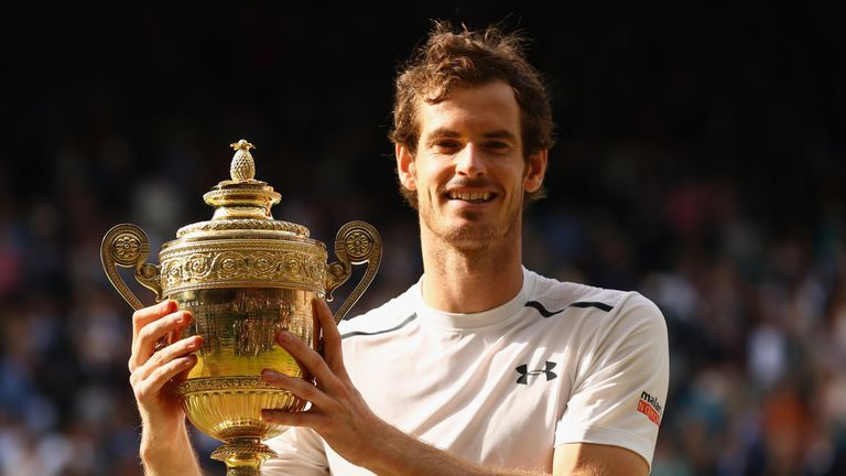 Murray last won a Grand Slam at Wimbledon in 2016