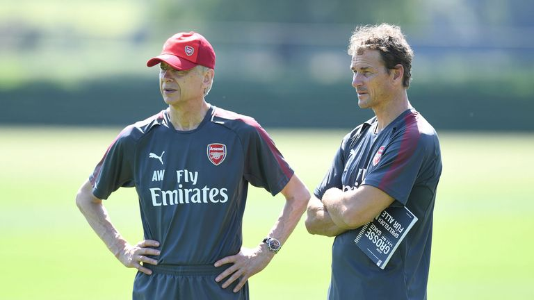 Jens Lehmann joined Wenger's first-team coaching staff in 2017