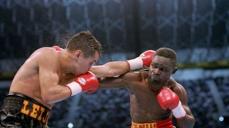 The trilogy with Jesse James Leija saw Nelson win, draw and lose.