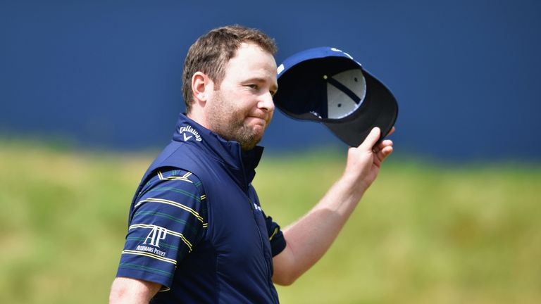 Branden Grace finished tied-sixth at Royal Birkdale