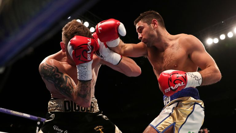 Buglioni and Summers went toe-to-toe in a gruelling battle