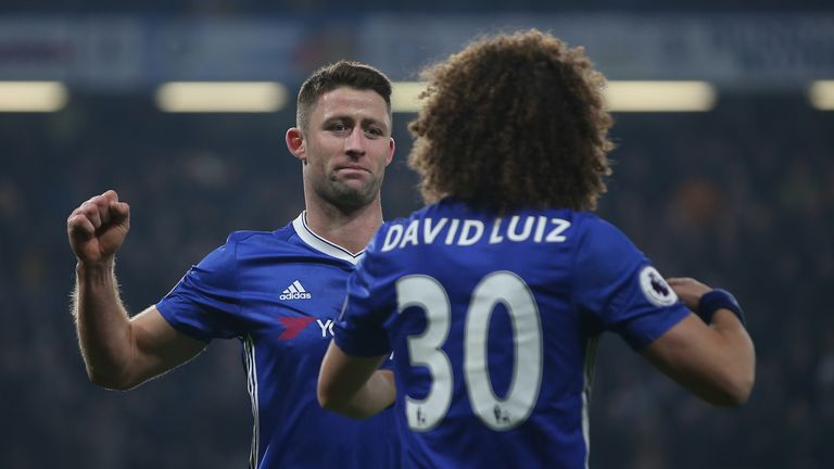 Cahill is now Chelsea skipper after John Terry left