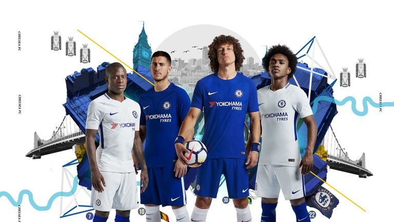 Chelsea launch home and away kits for 2017/18: These shirts are stunning!