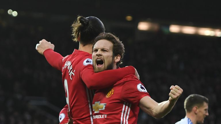 Daley Blind keen for Zlatan Ibrahimovic to re-sign for Manchester United