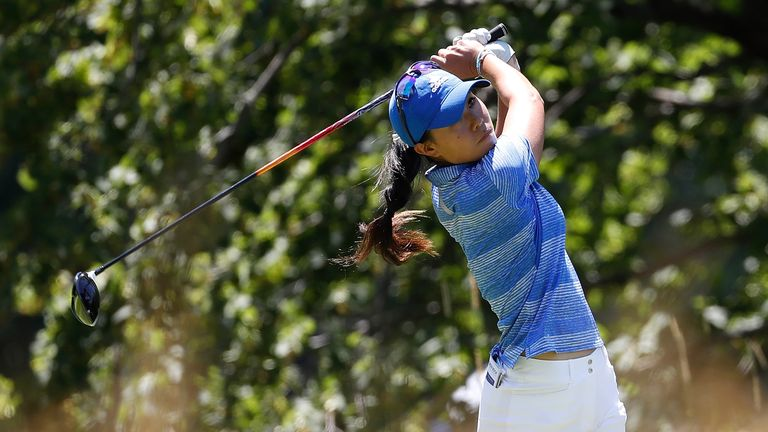 Kang and Kim share halfway lead at Women's PGA
