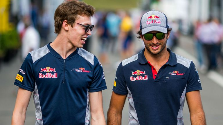 Kvyat: Sainz should've seen collision coming