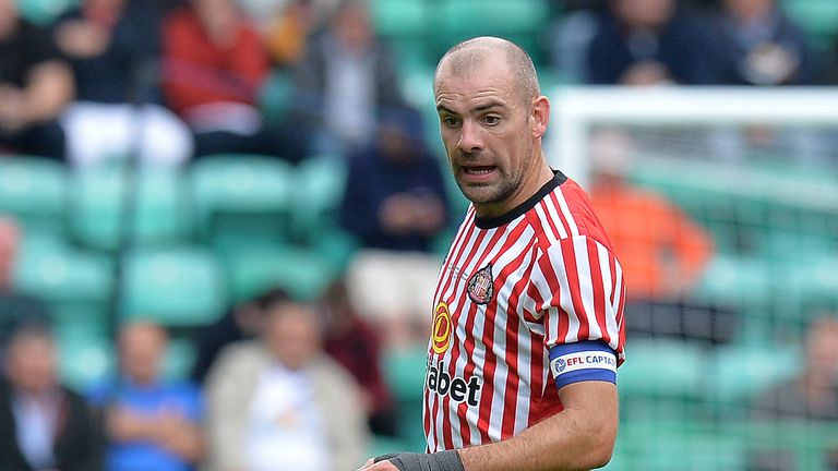 Darron Gibson moved to Sunderland from Everton in January 2017