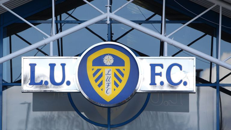 Leeds have announced the arrival of Italian striker Caleb Ekuban