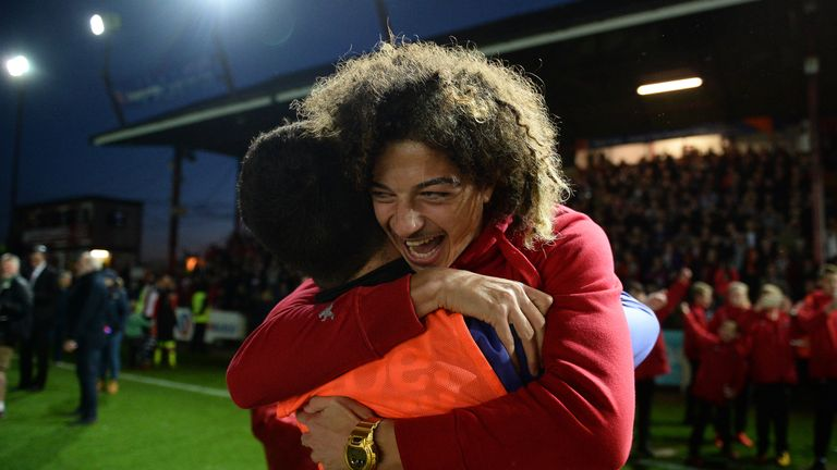 Ethan Ampadu was part of Exeter's first-team last season at just 16