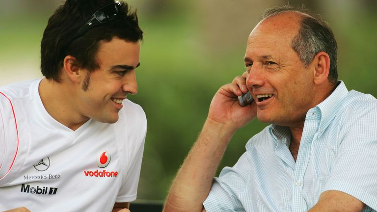 Fernando Alonso was a double world champion Ron Dennis simply had to have