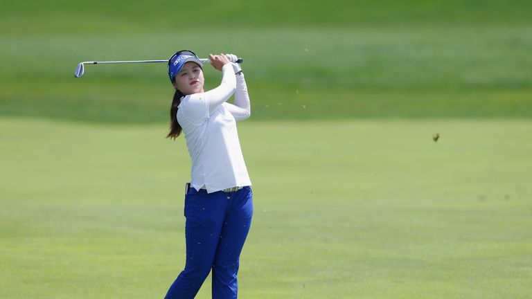 Hye-Jin Choi came second but missed out on over £400,000 in prize money