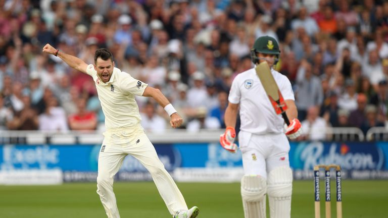Anderson has led an England attack that is dominant at home