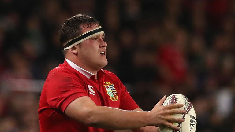 George started all three Tests for the Lions in New Zealand