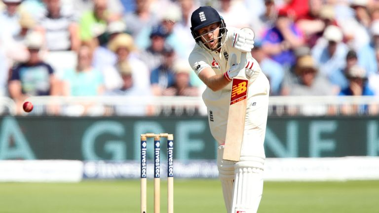England's Joe Root suffered his first defeat as captain in his second match in charge