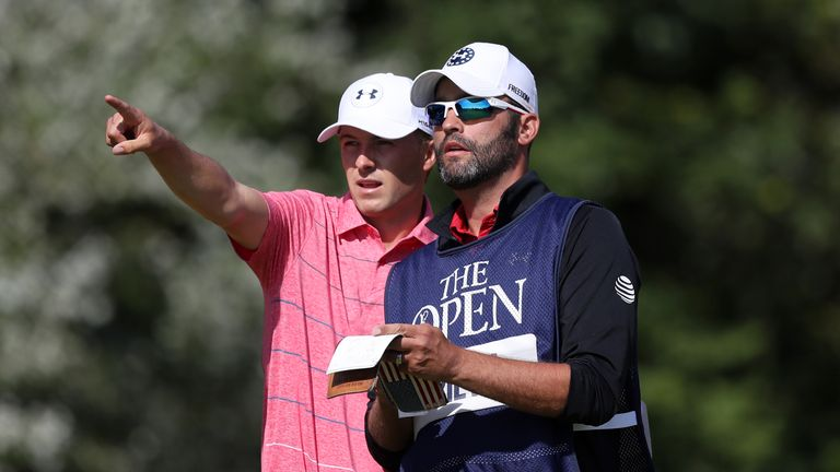 Spieth and caddie Michael Greller have formed a strong partnership