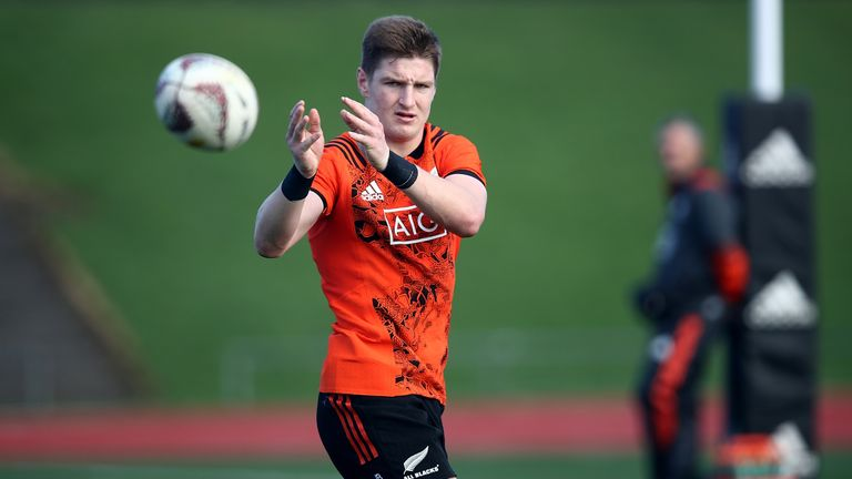 Jordie Barrett is one of two players who will make their New Zealand debuts in Saturday's third Test against the British & Irish Lions