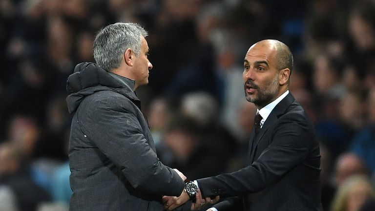 Guardiola and Mourinho's sides will be battling it out at the top of the Premier League this season