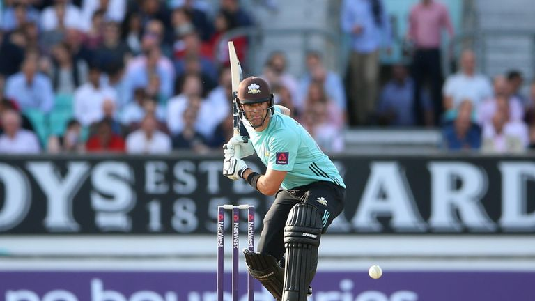 Pietersen hit a fifty for Surrey in his other Blast match this season