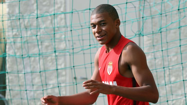 Kylian Mbappe has returned to training this week with Monaco