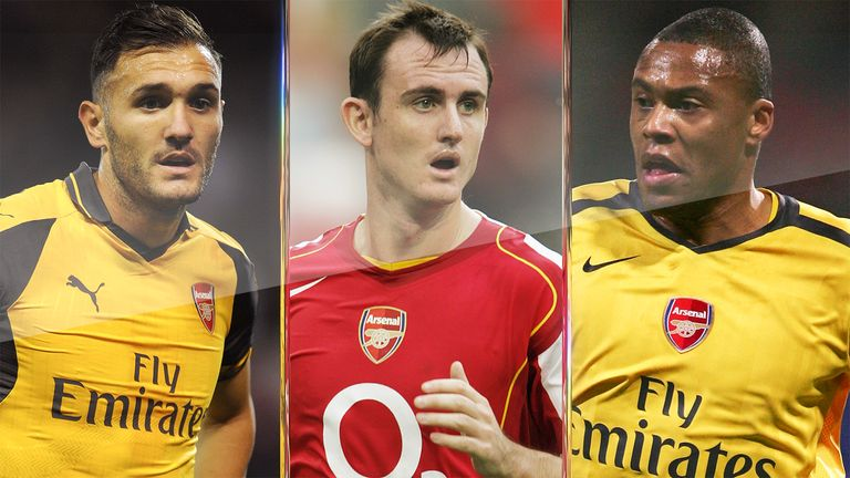 Francis Jeffers, Julio Baptista and Lucas Perez: The curse of Arsenal's No 9 shirt