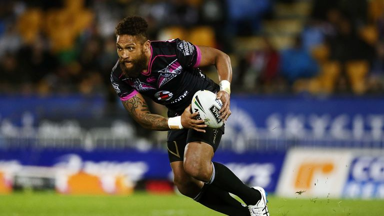 Manu Vatuvei joins Salford after almost 15 years at the New Zealand Warriors