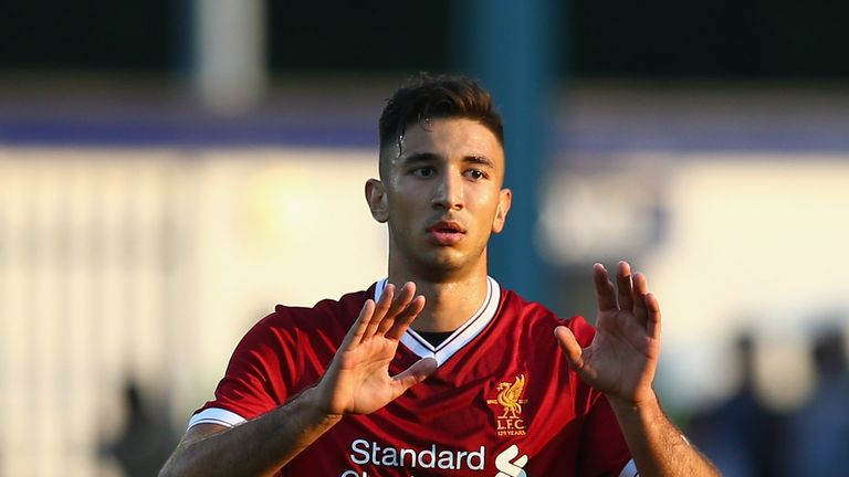 Marko Grujic was on target for Jurgen Klopp's side