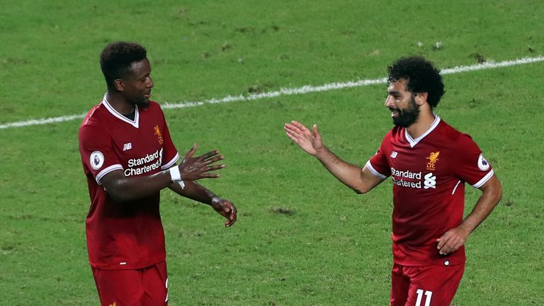 Mo Salah netted another Liverpool goal as the Reds won the PL Asia Trophy