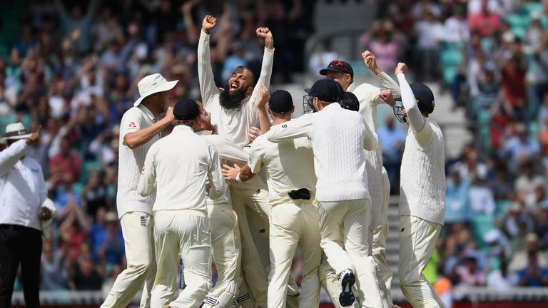Moeen Ali took a hat-trick against South Africa earlier this summer