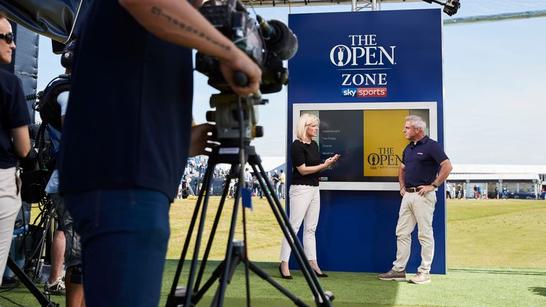 Paul McGinley joined Sarah Stirk in the studio during the week