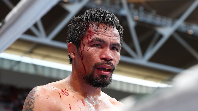 Pacquiao had retired briefly last year but made a comeback in November