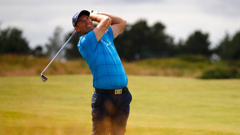 Harrington returns to Royal Birkdale for the first time since his Open win in 2008