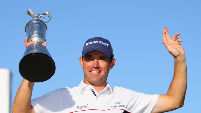 Harrington defended his Open title by four shots