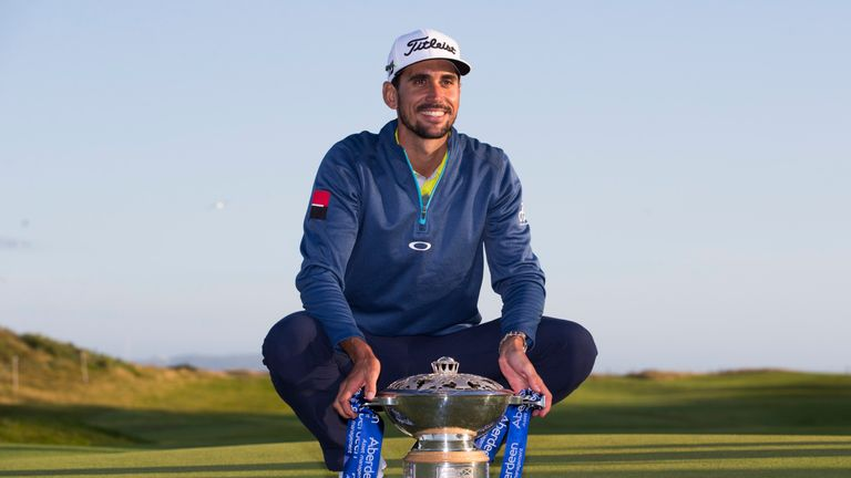 Rafa Cabrera Bello now has three European Tour titles to his name