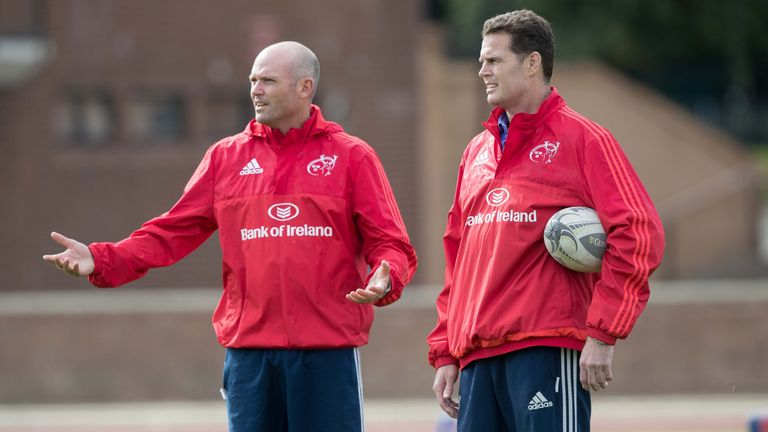 Munster's coaching team of Rassie Erasmus and Jacques Nienaber have given notice of their intentions to leave