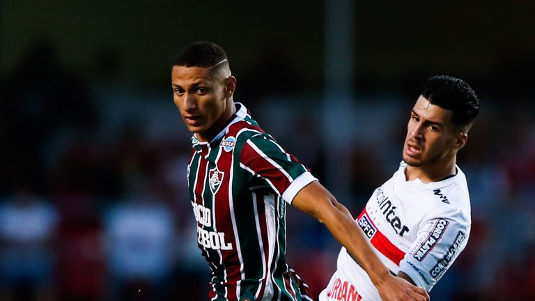 Watford 'agree £11.2m deal to sign Chelsea target Richarlison from Fluminense'