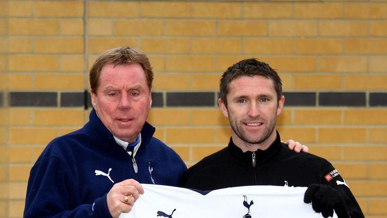 Blues boss Harry Redknapp signed Keane for his second spell at Tottenham in 2009