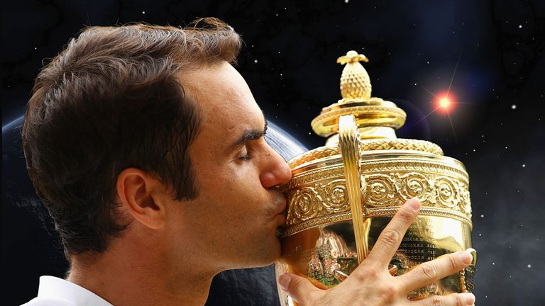Federer, Muguruza attend Wimbledon Champions Ball [Photos]