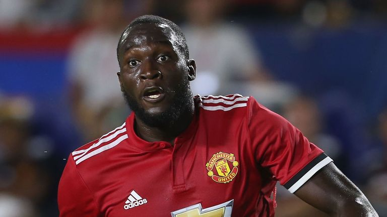 Mourinho was pleased with Romelu Lukaku - and wants to see him play with Rashford