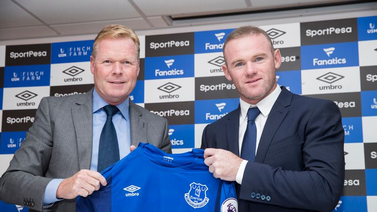 Wayne Rooney joined Manchester United on a free transfer