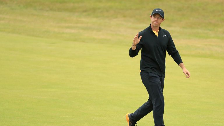 McIlroy carded three successive sub-70 rounds after a disappointing start
