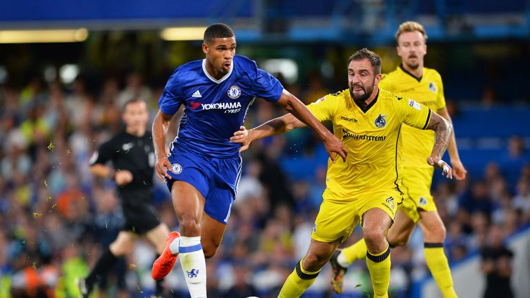 Loftus-Cheek in action for Chelsea